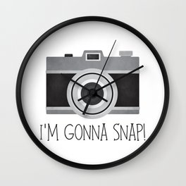 I'm Gonna Snap! Wall Clock