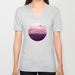 Ultra Violet Day Unisex V-Neck