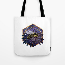 UltraViolet Bee Tote Bag