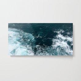 Water (Ocean Waves) Metal Print
