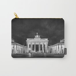 BERLIN Brandenburg Gate | Monochrome Carry-All Pouch