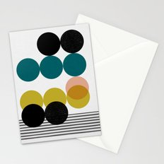 symphony circles Stationery Cards