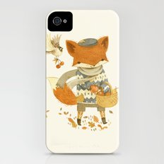Fritz the Fruit-Foraging Fox iPhone (4, 4s) Slim Case