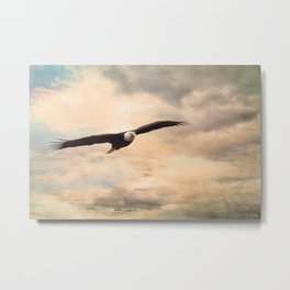 High Flyer Metal Print
