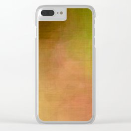 Gay Abstract 04 Clear iPhone Case