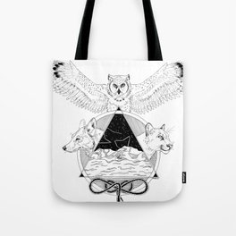 Against the Coast Tote Bag