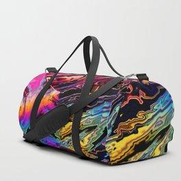 Rainbow road gone bad Duffle Bag
