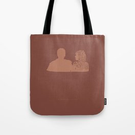 What We Don't Know Is Whether We Really Hate One Another -A Married Couple Tote Bag