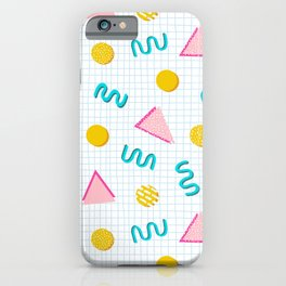 Geometric Memphis iPhone Case