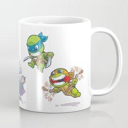 TMNT Cartoon Style Coffee Mug