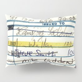 Library Card 5478 The New Atlantis Pillow Sham