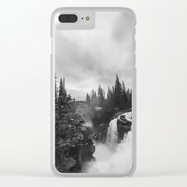 Athabasca Falls Clear iPhone Case