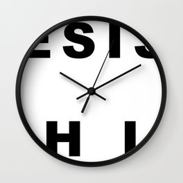 RE Wall Clock