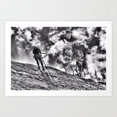 Repel  Art Print