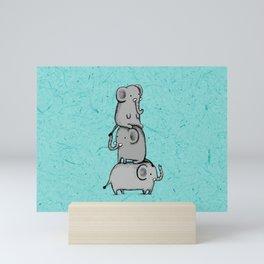 Elephant Totem Mini Art Print