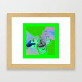 Lean of the third world Framed Art Print