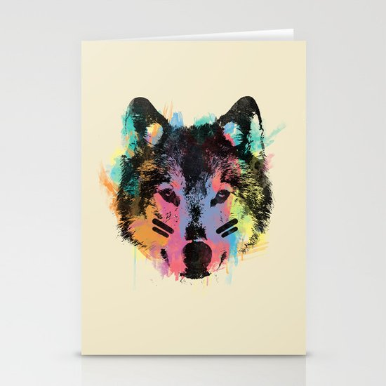 Wolf Child Stationery Cards
