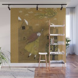 Autumn Kite Wall Mural