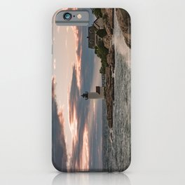 Annisquam Lighthouse sunset iPhone Case