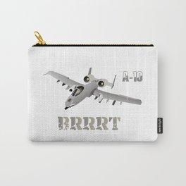 A-10 Warthog Jet Aircraft BRRRT Carry-All Pouch