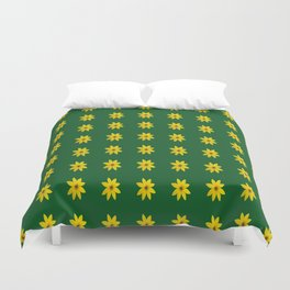 Coreopsis Pattern Duvet Cover