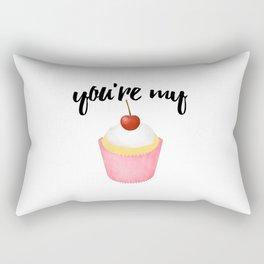 You're My Cupcake Rectangular Pillow
