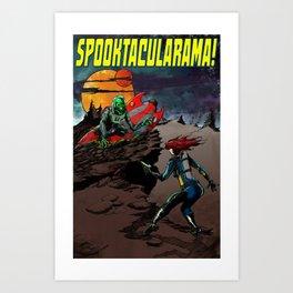 Spooktacularama! Art Print