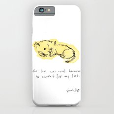 the lion was upset. iPhone 6s Slim Case