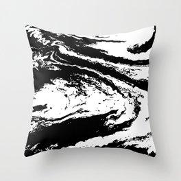 Clarity (Black & White Version) Throw Pillow