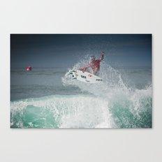 Pro Surfer Adriano De Souza Canvas Print