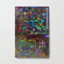 Trippy Renaissance Metal Print