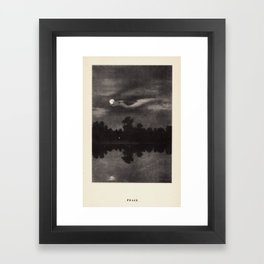 """Peace"" from ""Trees at Night"" by Art Young Framed Art Print"