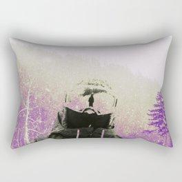 man on the mountain   Rectangular Pillow