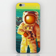 Space Man iPhone & iPod Skin