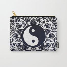 Yin & Yang Decorative Mandala Carry-All Pouch
