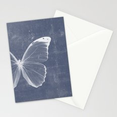 Butterfly in blue Stationery Cards