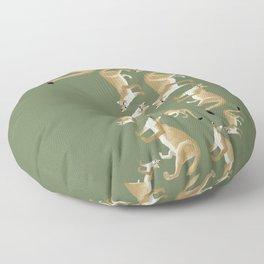 Feline cougar Floor Pillow