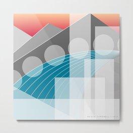 ABQ | River Runs Through It Metal Print