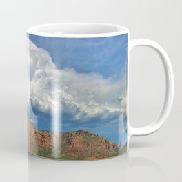 Monsoon Clouds over Sedona by Reay of Light Photography Coffee Mug