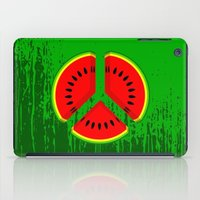 watermelon iPad Cases featuring Watermelon by mailboxdisco