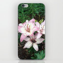 Lily Blooms In VT iPhone Skin