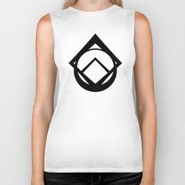 Maker Symbol-Black Biker Tank