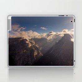 Sunrays Over Half Dome Laptop & iPad Skin