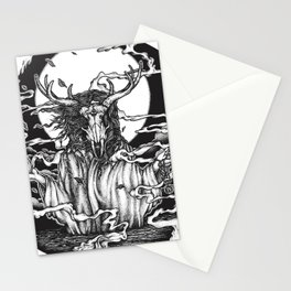 DREAMTIME - WHITE Stationery Cards