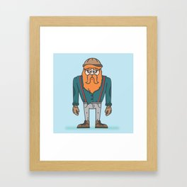 Thunderjack the Lumberjack Framed Art Print