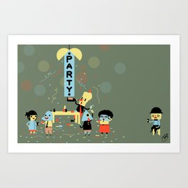 The Party (Alt) Art Print