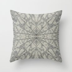SnowFlake #2 Throw Pillow