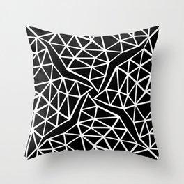 Seg Colide Throw Pillow