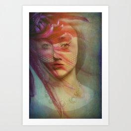 Last century woman Art Print