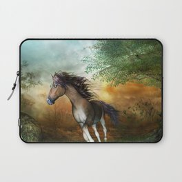 Beautiful brown horse Laptop Sleeve